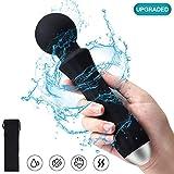 Wand Massaggiatore portatile, Magic Wand impermeabile Personale Wireless Massaggio Elettrico con 20...