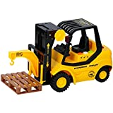 Warenhandel König Juguete infantil para coche, escala 1:16, paleta, gancho, función de elevación de sonido, #293