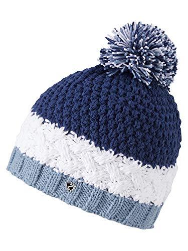 Ziener Damen ISSOGI hat Bommel-mütze/Warm, Gestrickt, Nautic, Usex