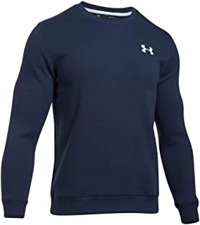 Under Armour Men's Rival Solid Fitted Crew