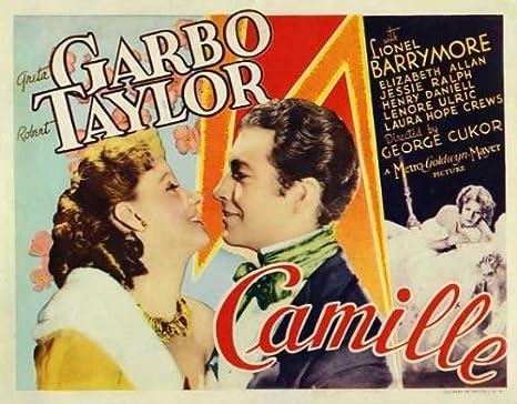 Amazon.com: Camille POSTER Movie (1936) Style B 11 x 17 Inches - 28cm x  44cm (Greta Garbo)(Robert Taylor)(Lionel Barrymore)(Elizabeth Allan)(Jessie  Ralph): Prints: Posters & Prints