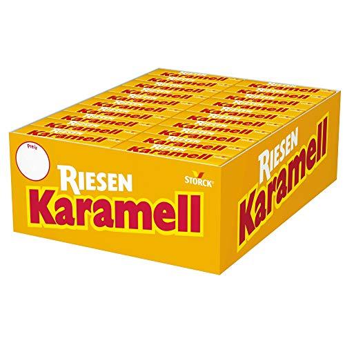Karamell Riesen (80 x 29g) / Karamellbonbon mit Biss