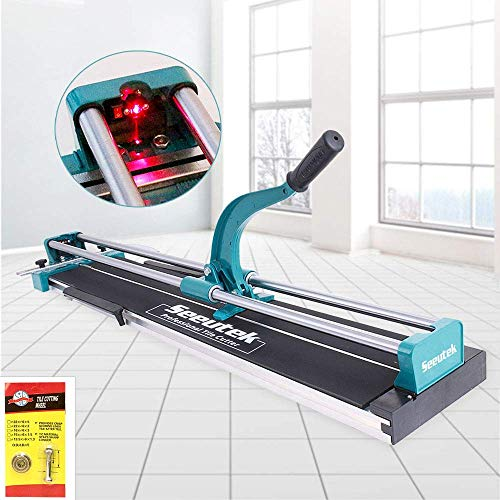 Manual Tile Cutter With Tungsten Carbide Scoring Wheel for Porcelain...