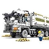 MxZas Bloques de construcción Niños de 3 a 12 años de Edad Ingeniería Camión de Descarga de Tierra Bloques de construcción Puzzle Juguetes for niños Puzzle favores de Partido Suministros para los niñ