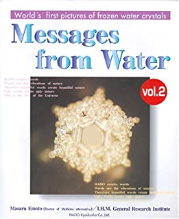 Messages from Water, Vol. 2 (English and Japanese Edition)