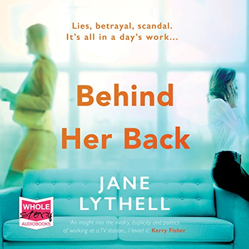 Behind Her Back audiobook cover art