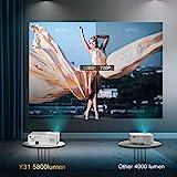 Zoom IMG-1 yaber proiettore 7200 lumen videoproiettore