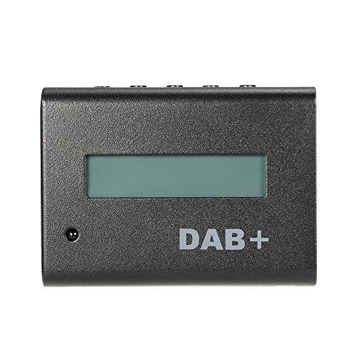 KKmoon Universal 12V Auto Digitalradio DAB + Audio-Receiver Kit mit Kfz-Ladegerät / Fernbedienung / Antenne