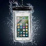 N4U Online Wasserdicht Unterwasser Gehäusedeckel Tasche Trocken Beutel für Hisense A1 - Schwarz