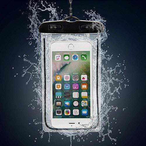 N4U Online® wasserdichte Unterwasser-Schutzhülle für Asus ZenFone Go 5.0 (LTE)