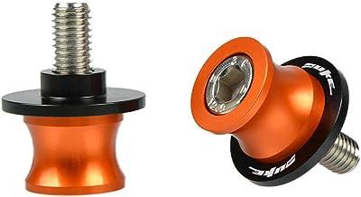 M10 Motorcycle CNC Swingarm Spools Stand Screws Sliders for KTM DUKE 125 200 2012-2015 DUKE 390 2013-2015 KTM RC 125 200 390 2014 2015-Orange