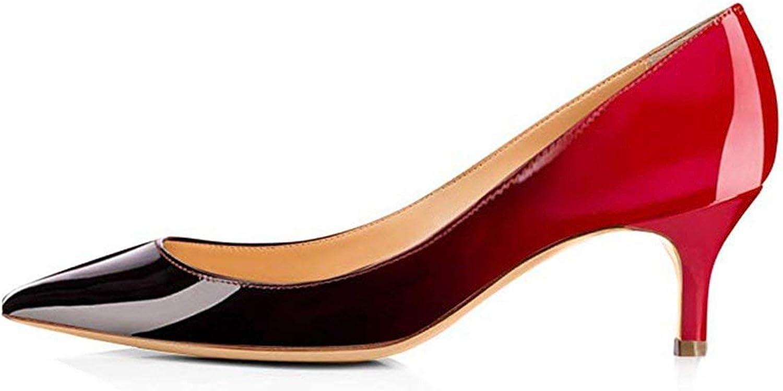 Just XiaoZhouZhou Basic shoes De women De Moda 2019 De Vestir PU Pointed Toe Casual shoes Slip-On Women shoes Size35-45 LY1253