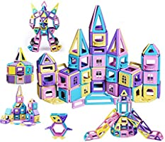 Macarons Magnetic Building Blocks for kids