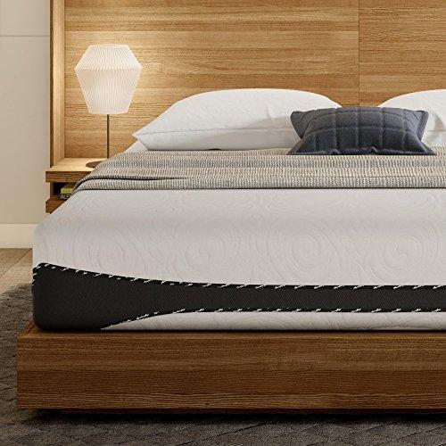 Signature Sleep Aura 12-Inch Premium Cool Gel Memory Foam Mattress with CertiPUR-US certified foam, Firm Mattress Support - King