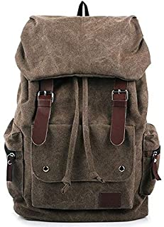 Canvas Men women Fashion Backpack Satchel Leisure School Bag