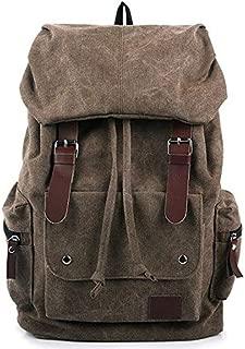 Canvas Men women Fashion Backpack Satchel Leisure School Bag