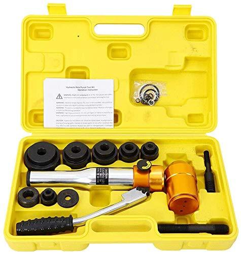 Perforadora de chapa hidráulica de 0,9-2,4 pulgadas, perforadora hidráulica, punzón de chapa, tubo 6