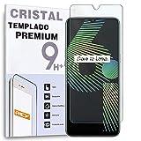 Protector de Pantalla para OPPO REALME 6i - REALME C3 - REALME 5i - REALME 5 - REALME 5S - REALME C11 - C15, Cristal Vidrio Templado Premium