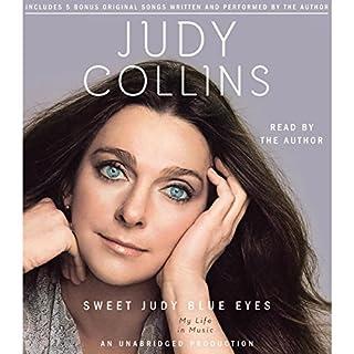 Sweet Judy Blue Eyes audiobook cover art