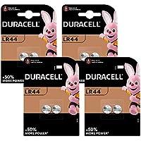 Duracell Pilas especiales alcalinas de botón LR44 de 1.5V, paquete de 8 unidades, 76A/A76/V13GA, diseñadas para su uso en juguetes, calculadoras y dispositivos de medición