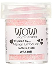 Wow Polvo de Repujado 15 ml-Taffeta, Rosa