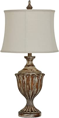 Crestview Collection CVAVP433 Prescott Table Lamp Lighting, Brown