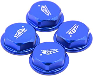 FLMLF Wheel Nut Blue for 1/5 RC Hpi Baja 5B 5T 5SC Rovan King Motor redcat car TOP Speed RC World