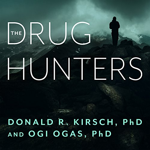 The Drug Hunters audiobook cover art