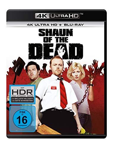 Shaun of the Dead (4K Ultra HD) (+ Blu-ray 2D) [Alemania] [Blu-ray]