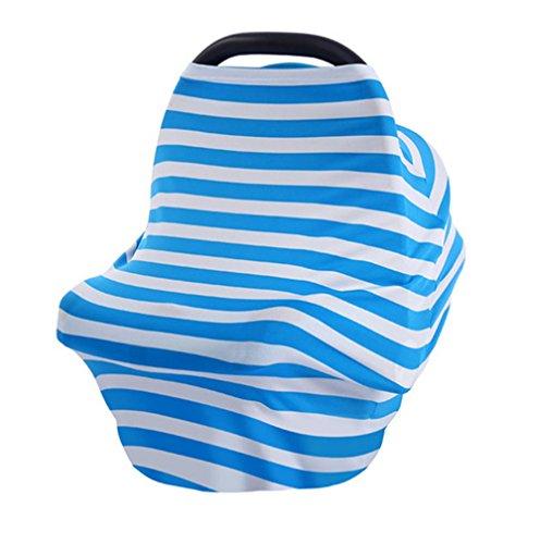 2017 NEUF Housse de siège auto pour bébé Ciel de lit d'allaitement Housse multi-usages extensible infinity Écharpe allaitement Shopping Housse de voiture Housse de chaise haute pour femme TOPS T-shirt