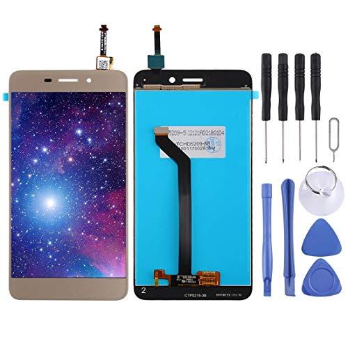 Beilaishi Kit de reparación de teléfono móvil Pantalla LCD y digitalizador completo para Vernee M5 pieza de repuesto (color dorado)