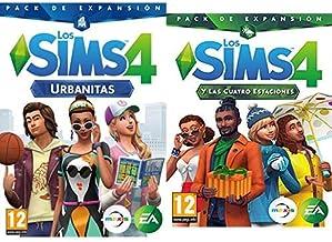 Los Sims 4: Urbanitas (PC) &  y las cuatro estaciones (La caja contiene un código de descarga - Origin)