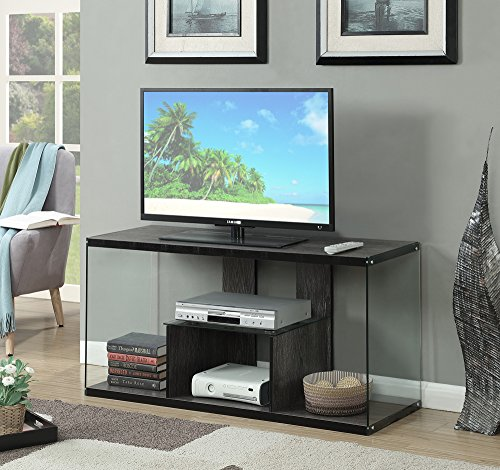 Convenience Concepts SoHo TV Stand, Weathered Gray