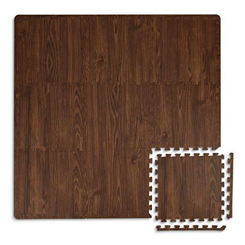 FloorPops FP3593 Craftsman Azulejos entrelazados, café