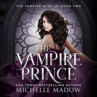 The Vampire Prince audiobook cover art