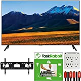 SAMSUNG UN86TU9000 86-inch 4K Ultra HD Smart LED TV (2020 Model) Motion Rate 240 Technology Bundle with TaskRabbit Installation Services + Deco Gear Wall Mount + HDMI Cables + Surge Adapter