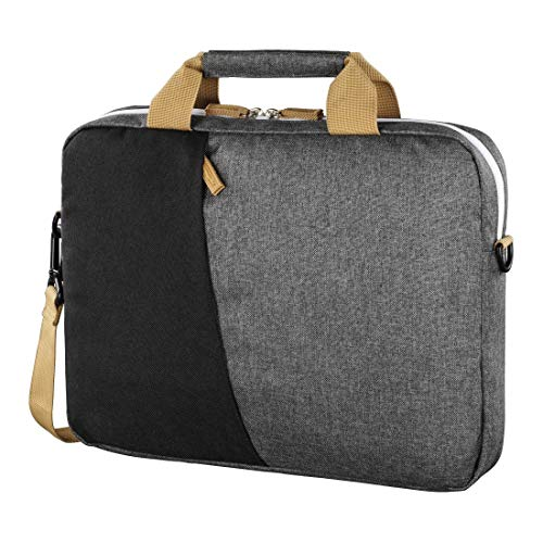 Laptoptas tot 40 cm (15,6 inch), zwart/grijs.