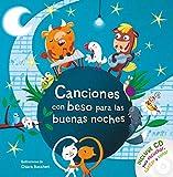 Canciones con beso para las buenas noches: Incluye CD para e