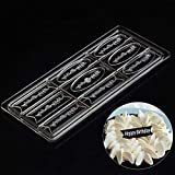 Happy Birthday Word DIY Clear Tray Hard PC Chocolate Molds Candy Jelly Mould
