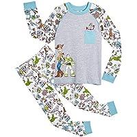 Disney Pijamas para Niños De Toy Story 4! | Ropa Suave Y Cómoda para Dormir De Niño Y Niña | Pijamas De Manga Larga Pixar | ¡ con Woody, Buzz Lightyear y Forky! (2/3 años)
