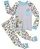 Disney Pyjama Garçons Toy Story 4 avec Woody, Buzz l'Éclair Et Forky | Vêtements De Nuit pour Enfants 100% Coton | Ensemble Pyjama Manches Longues Et Leggings | Idée Cadeau Bébé (2/3 Ans)