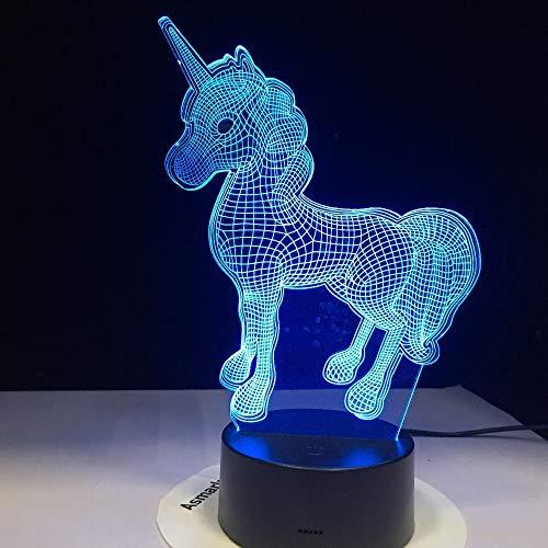 Nur 1 Stück Deal 3D LED Lampe Tier Kaii Nachtlicht Multi Farben W Bulb Dekorative Geschenk Cartoon Spielzeug