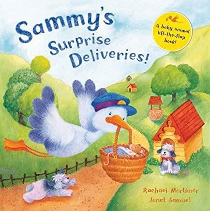 Sammys Surprise Deliveries!: A lift-the-flap baby animal book by Rachael Mortimer (Illustrated, 18 Jan 2008) Paperback
