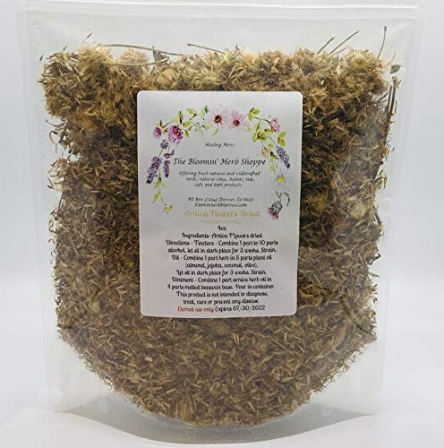 Arnica Flowers 4ounces bulk dried Heterotheca inuloides