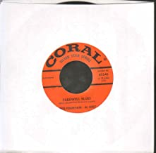 farewell blues / march of the bob cats 45 rpm single