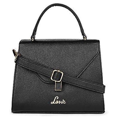 Lavie Gypsy Flap Satchel Women's Handbag (Black)