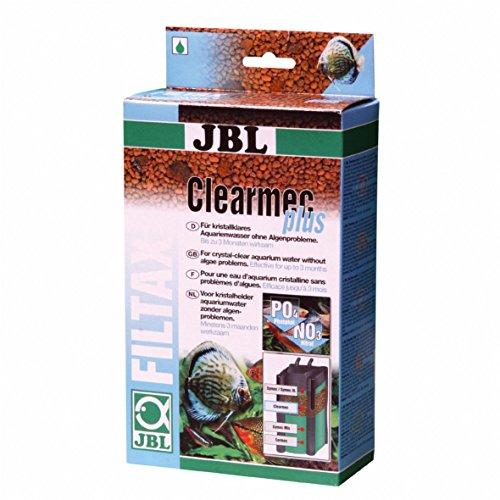 JBL Clearmec plus 62395 Filtermasse zur Entfernung Nitrit, Nitrat und Phosphat aus Aquarienwasser 600 ml