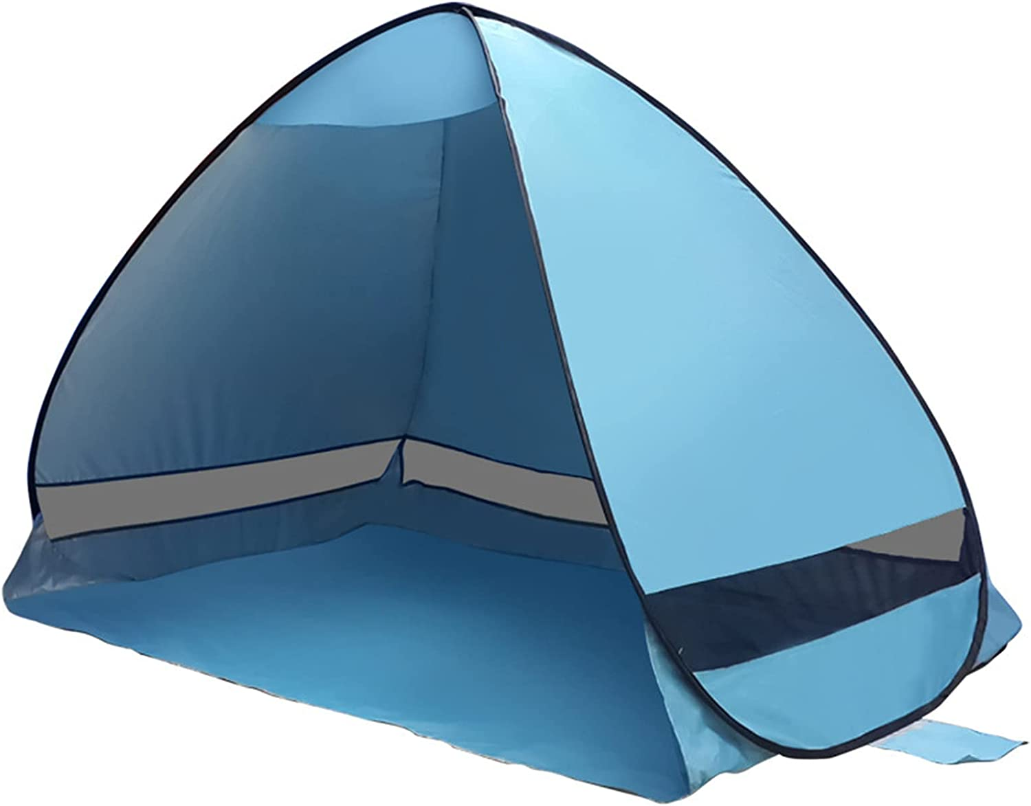 Beach Tent Sun Deluxe Shade Shelter Building-Free Max 45% OFF Automatic Bea Camping