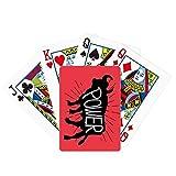 Juego de mesa de la diversión de la tarjeta mágica del poker natural del esquema animal de la vaca negra