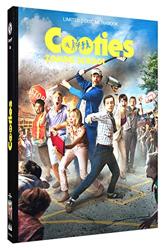Cooties - Zombie School - Mediabook - Cover B - Limited Edition auf 250 Stück - Uncut (+ DVD) [Blu-ray]